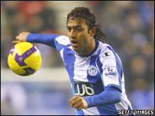 Wigan and Egypt striker Mido