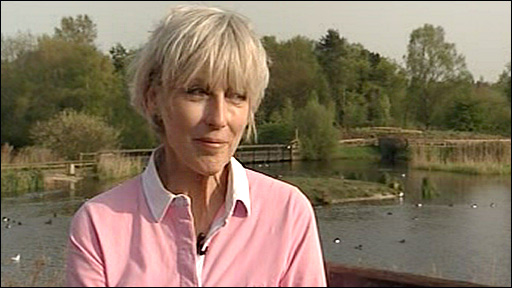 Deb Jordan on Springwatch 2009