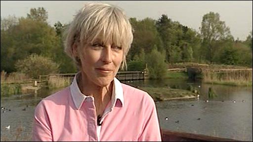 Deb Jordan on Springwatch 2009