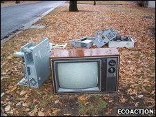 Dumped TV and PC