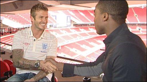 David Beckham and Ore