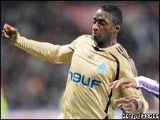 Marseille striker Mamadou Samassa