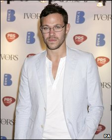 Will Young at Ivor Novello awards