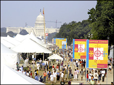 General Views of the Smithsonian Folklife Festival in 2004