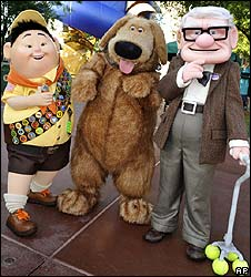 Characters from Up