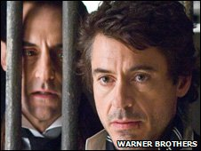 Robert Downey Jr is the latest incarnation of Sherlock Holmes