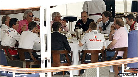 All 10 team bosses met in Monaco to discuss their views on the budget cap proposals