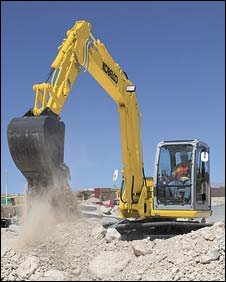 Digger image provided by Kabelco
