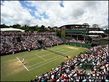Wimbledon's old Court Two - the 'Graveyard of Champions'