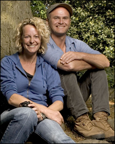 Kate Humble and Simon King
