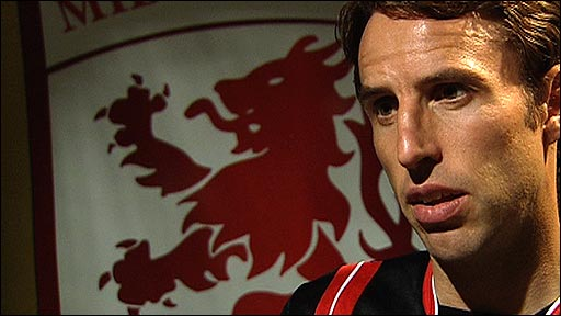 Middlesbrough manager Gareth Southgate