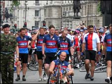 2008 Help for Heroes bike ride