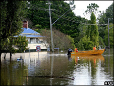 Flooding in Lismore (22 May 2009)