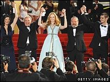 Cannes premiere of The Imaginarium of Dr Parnassus