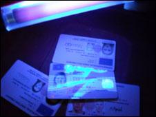 Fake England Uk Id Shone Use Cumbria News Light On Bbc Card