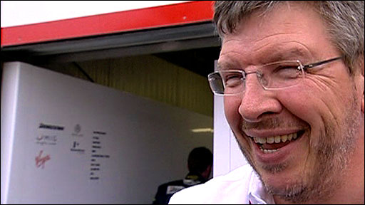 Brawn GP team principle Ross Brawn