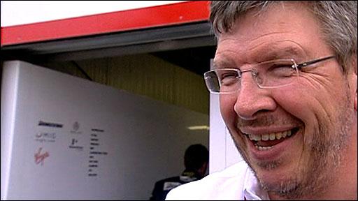 Brawn GP team principle Ross Brawn