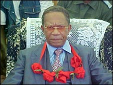 Former Madagascan President Didier Ratsiraka