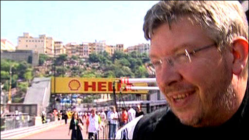 Brawn GP team boss Ross Brawn