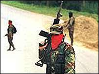 ELN rebels (archive)
