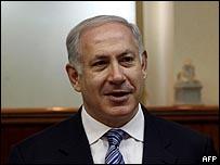 بنيامين نتنياهو خلال الاجتماع الأسبوعي لحكومته