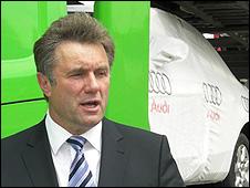 Adam Byglewski, head of Adampol freight firm