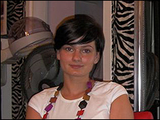 Dobrawa Piekos, hairdresser in Warsaw