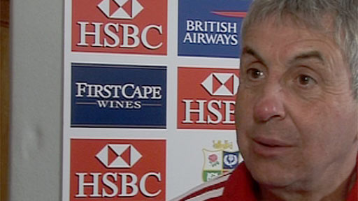 Lions coach Ian McGeechan