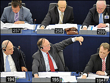 MEPs voting (file pic)