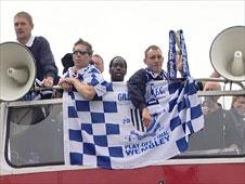 Gillingham FC victory parade