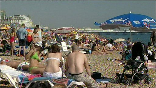Skin Cancer risk from sunbathing tanning and beaches