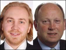 Stephen Agnew (Green) and Jim Allister (Traditional Unionist Voice)