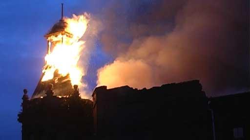 fire at coliseum theatre