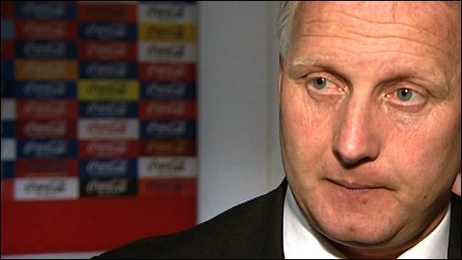 Sheffield United manager Kevin Blackwell
