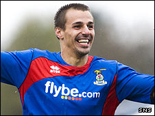 Inverness forward Filipe Morais