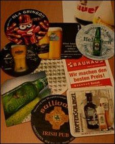 Beer mats