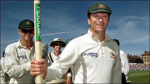 Australia celebrate in 2001