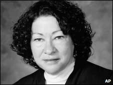 Sonia Sotomayor, file image