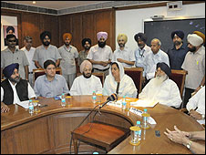 Meeting of Punjab parties following Mr Ramanand's death