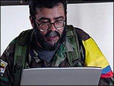 FARC leader Alfonso Cano