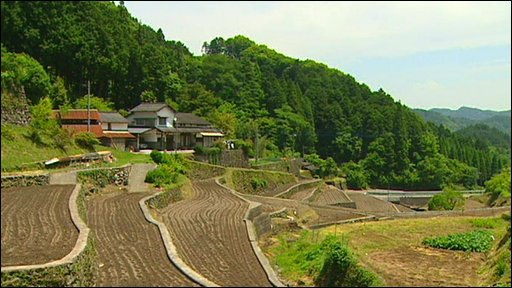 Rural setting in Japan