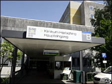 Harlaching clinic in Munich (26 May 2009)