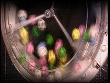 National Lottery balls