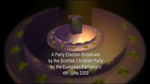 Scottish Christian Party broadcast