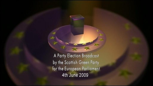 Scottish Green Party broadcast