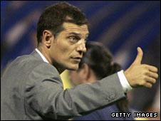 Croatia coach Slaven Bilic