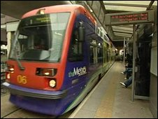 The Metro at Snow Hill station