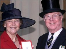 Ann and Sir Nicholas Winterton