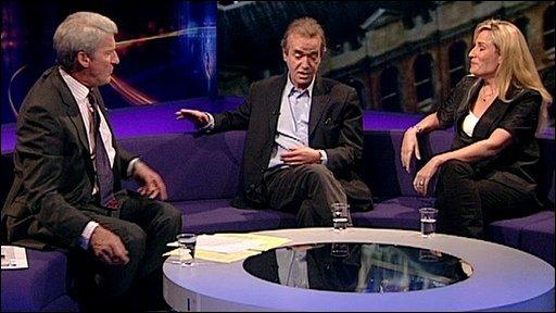 Jeremy Paxman, Martin Amis, Sarah Churchwell
