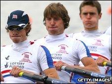 Hewitt in action with GB U23